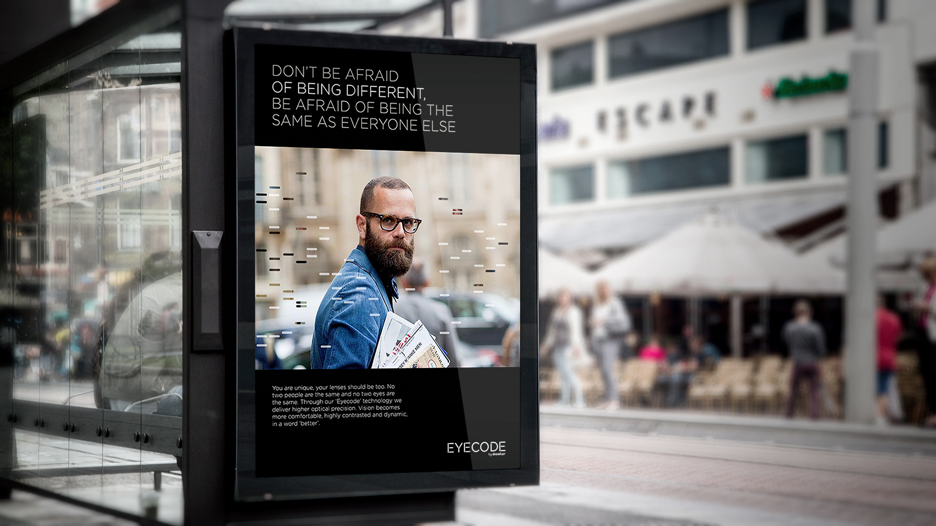 Bus Stop Billboard MockUp.1